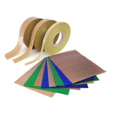 Fabrics sheets teflon tapes wire sealing